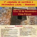 Programa das I Jornadas de História e Património Local - Penedono